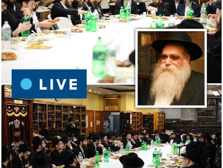 LIVE: MECHANCHIM FARBRENGEN WITH R' FITCHE PEVZNER