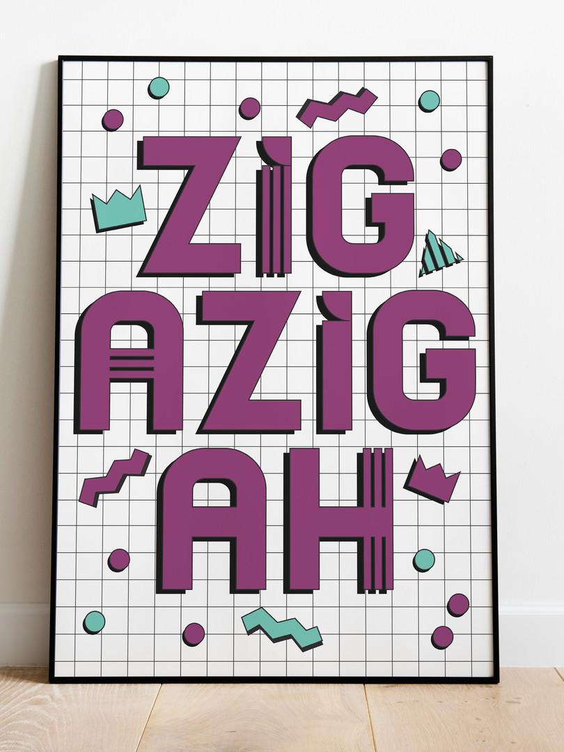 Zig a zig