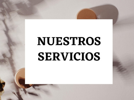 Nuestros Servicios!!!