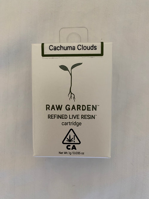 Cachuma Clouds Live Resin Cart by Raw Garden