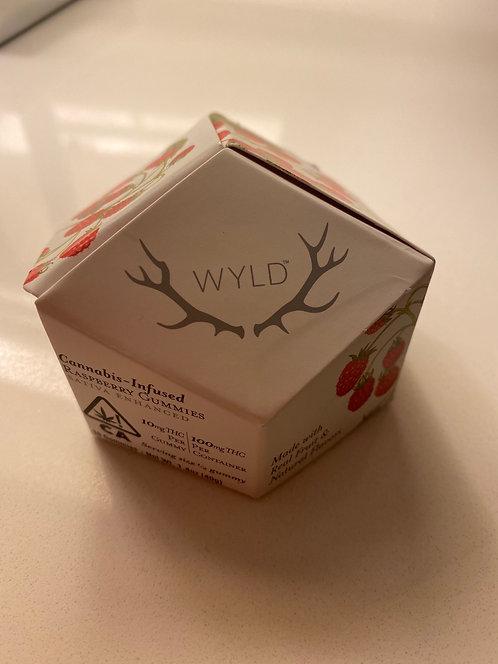 100 mg Raspberry Gummies by WYLD