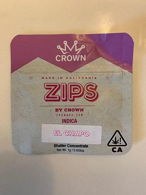 El Chapo 1g Shatter by Zips — 86.332%