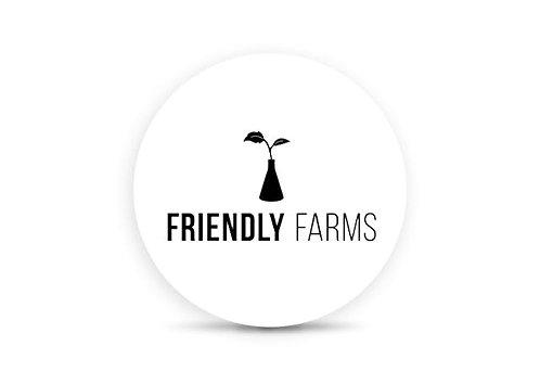 Friendly Farms | Sugar Cone | Cured Resin Cartridge