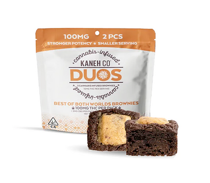 Best of Both Worlds Brownie Pack | 100mg