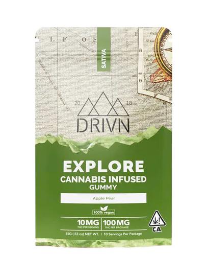 Explore Gummies Sativa   100mg