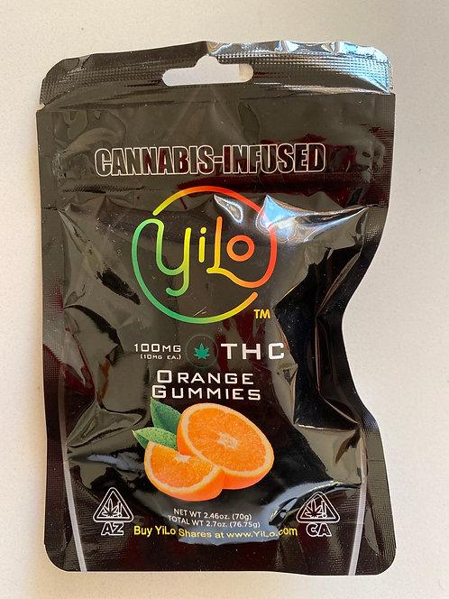 100 mg Orange Gummies
