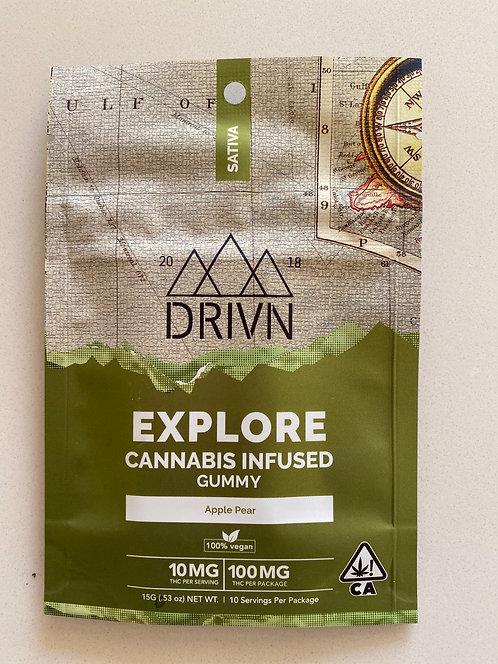 100 mg Vegan Sativa Gummies by Drivn