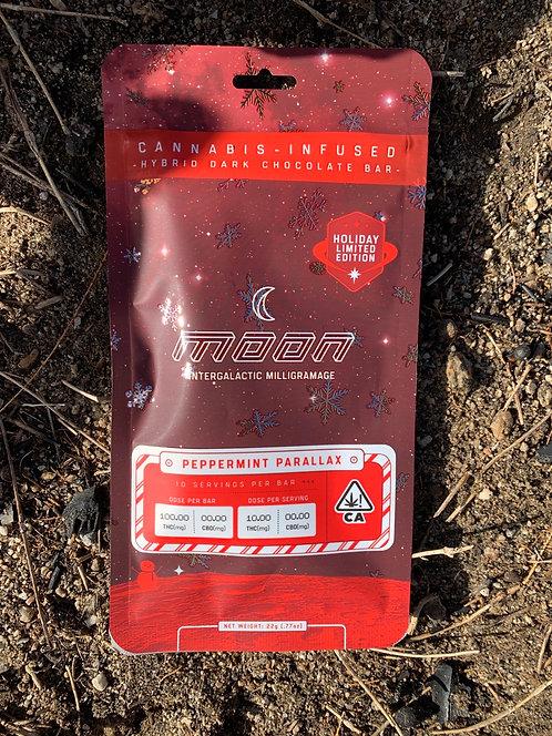 100 mg Peppermint Parallax Chocolate Bar