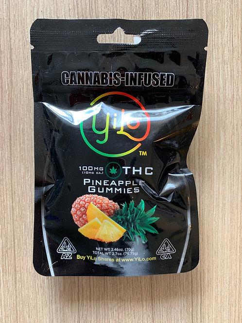 100 mg Pineapple Gummies