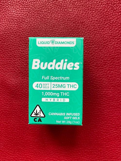 Liquid Diamonds Buddies Pills   1000mg