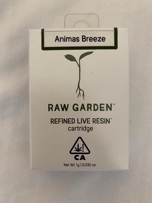 Animas Breeze Live Resin Cartridge by Raw Garden