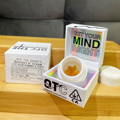 OTC   Diamonds n' Terps - Berries n' Cream (Tier 2)