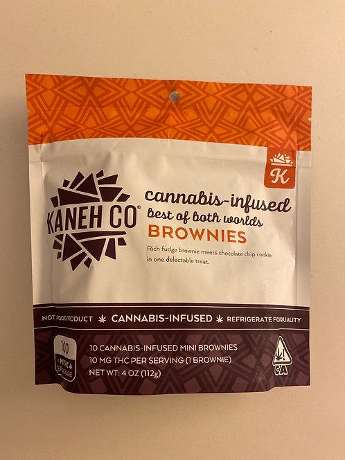 100 mg Brownies by Kaneh Co
