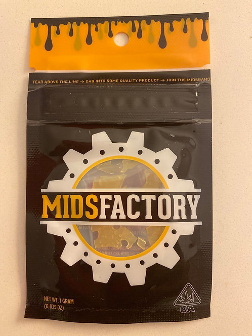 Mids Factory 1 g Lemon Sour Diesel Concentrate (88.91%)