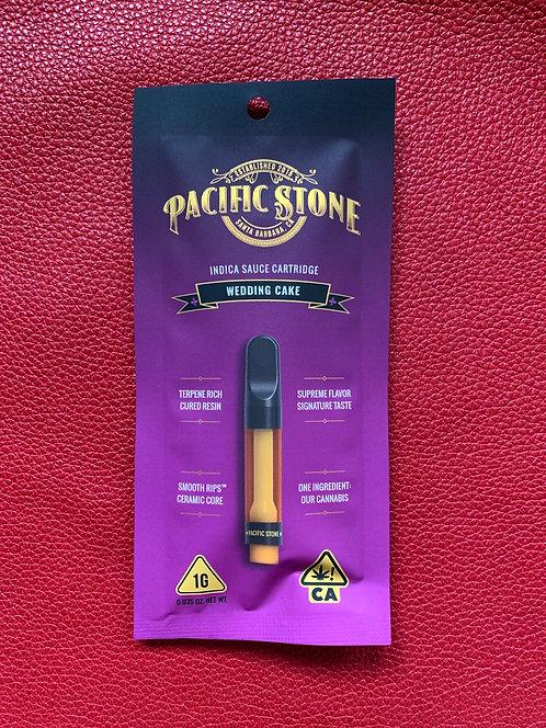 Wedding Cake Pacific Stone Indica Sauce Vape Cartridge —  1.0g — 69 percent