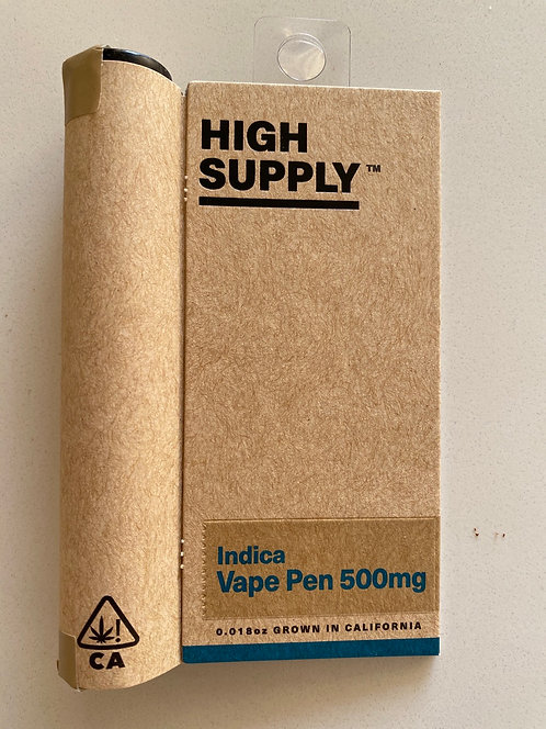 Indica .5g Cartridge by High Supply