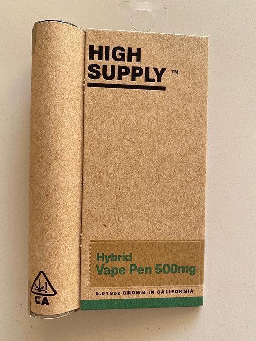 Hybrid .5g Cartridge by High Supply