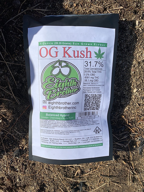OG Kush by Eigth Brothers - 31.7% (Ounce)