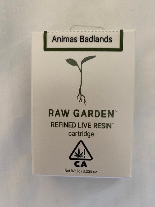 Animas Badlands Live Resin Cartridge by Raw Garden