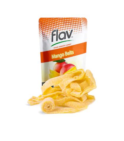 Mango Gummy Belts   100mg