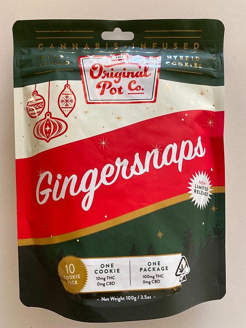 100 mg Opc Cookies - Gingersnaps