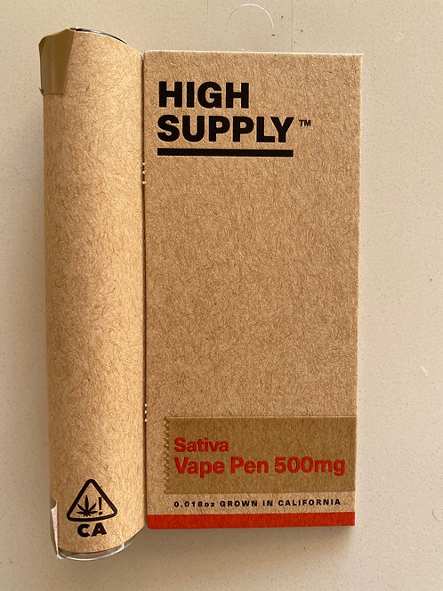 Sativa .5g Cartridge by High Supply