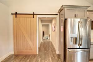 Barn Door Kitchen