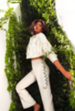 M'Mah-camara-échelle-mur-blanc-à-feuille