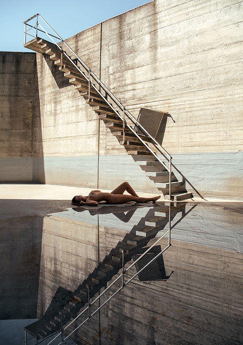 Melissa-Luchino-escaliers-reflet-flaque-
