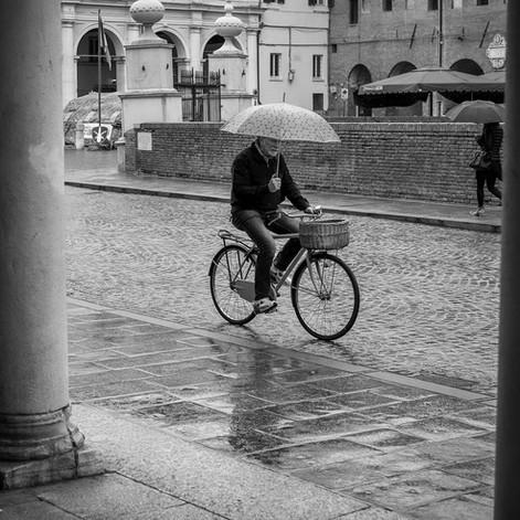 Piove a Ferrara