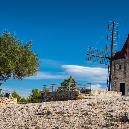 Provence, Moulin d'Alphonce Daudet