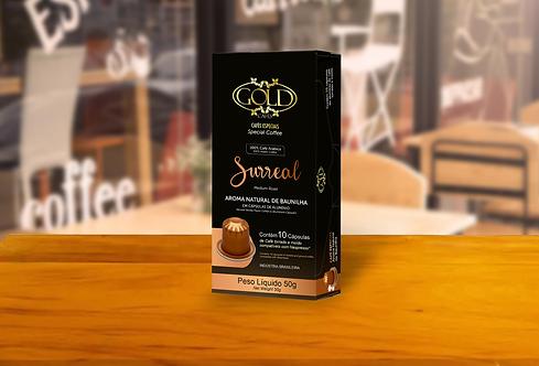 Café Gold em Cápsulas - AROMA BAUNILA
