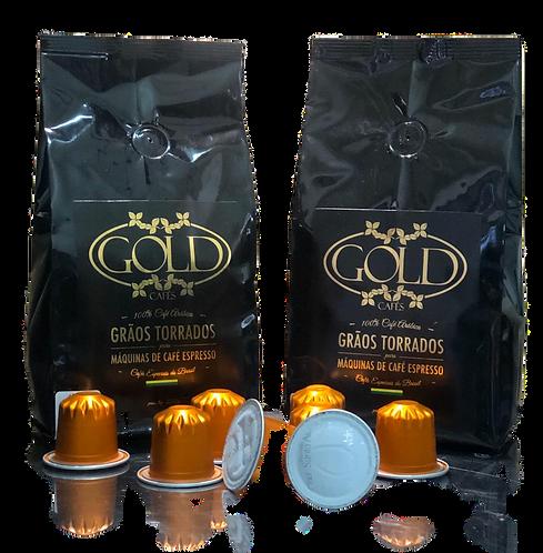 Café Gold em Cápsulas