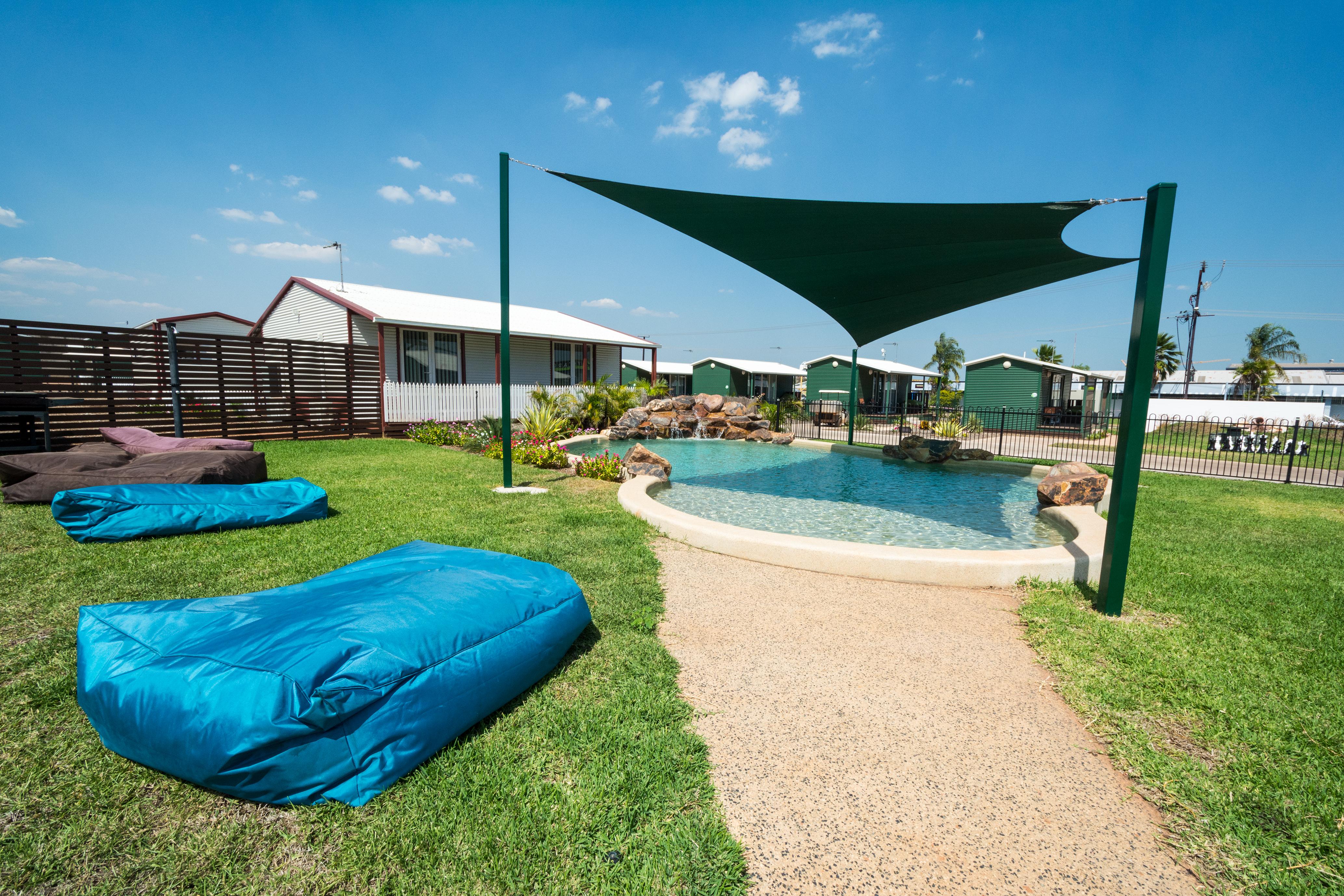 Beautiful swimming area in Darwin