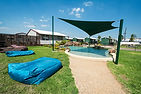 Darwin's best hotels. Resort pool at the Leprechaun Resort Darwin