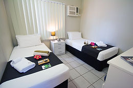 Family holidays don't have to be cheap and nasty. Every budget is catered for in Darwin at the Leprechaun. Self contained cabin in Darwin. Cheap home away from home in the Leprechaun Resort. Hotels in Darwin