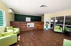 The Leprechaun Resort Darwin. Hotels reception area. Value accommodation in our new resort in Darwin.