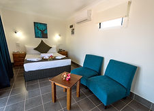 Luxury linens in all of our self contained hotel rooms and accommodations in Darwin. Self contained cabin in Darwin. Cheap home away from home in the Leprechaun Resort. Hotels in Darwin