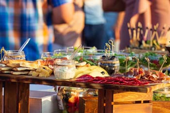 holiday caterers san diego
