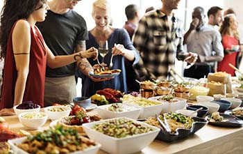holiday party catering budget