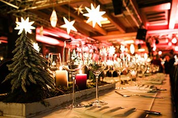plan ahead for holiday party catering