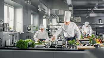 detailed food preparation