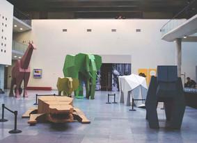 Animales Africanos Centro Cultural La Moneda