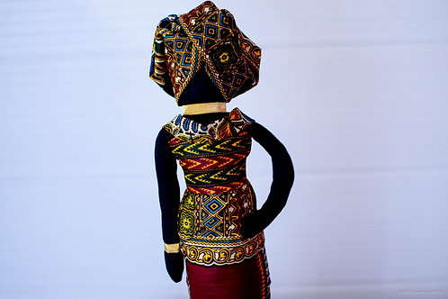 Boneca Africana Muscuta