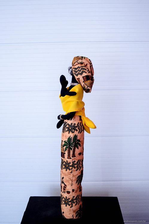 Boneca Africana Mamá