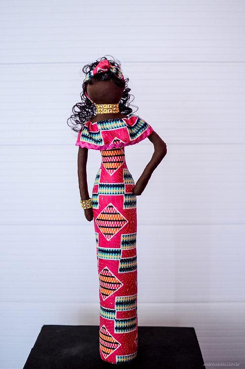 Boneca Bajuda Africana
