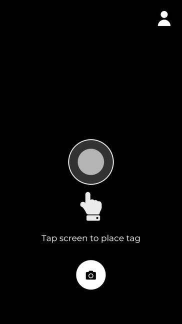 Screen Recording of the Tag View application
