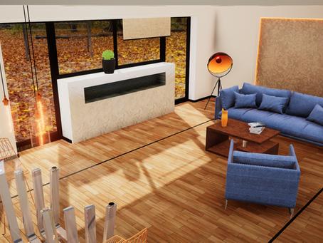 Photorealistic Interior environment