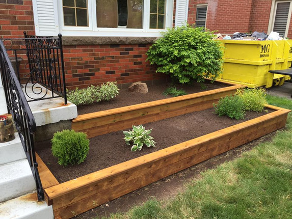 landscaping design build raised garden b