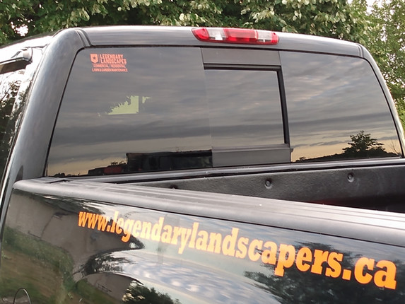 legendary landscapes truck hamilton ston